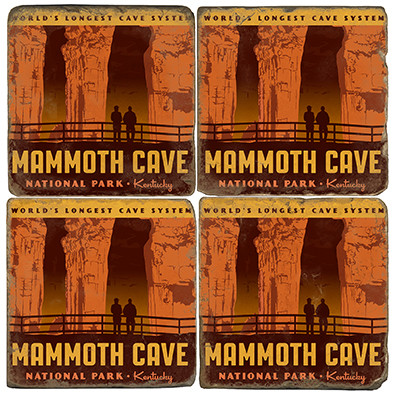 Mammoth Cave National Park. License artwork by Anderson Design Group.