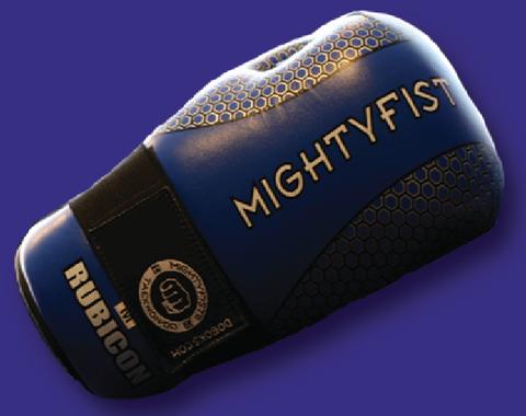 Blue Mightyfist Rubicon Gloves