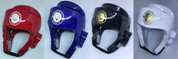 Mightyfist dipped foam headguards - available in red, blue, black and white in sizes XS to XL