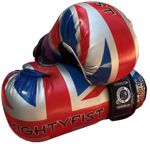 Mightyfist British open hand sparring gloves