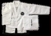 Fully embroidered Matrix Traditional logo Black Belt dobok