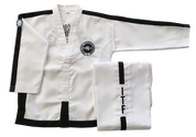 Onyx Traditional ITF Logo Instructor / Master dobok
