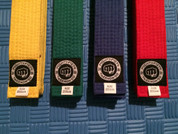 MIGHTYFIST Colour belts - 5 packs