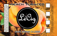 US Made Peach Tobacco