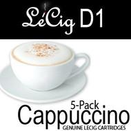 LeCig D1 - Cappuccino - 5 pack