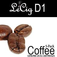 LeCig D1 - Coffee - 5 Pack
