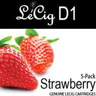 LeCig D1 - Strawberry - 5 Pack