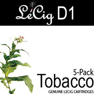 LeCig D1 - Tobacco - 5 Pack
