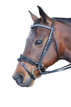 Regal Crystal Crank Hanoverian Bridle