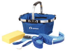 6 Piece Grooming Basket Kit