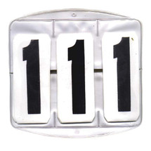 Roma Competition Number Set- Saddle Pad