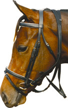 """Workwear"" Padded Hanoverian Bridle"