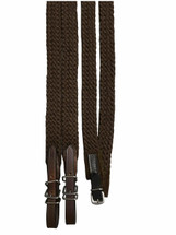 Calgary Cotton Plaited Reins with Stainless Steel Buckles