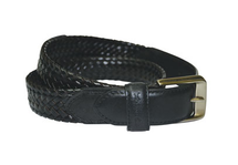 Thomas Cook Harry Leather Braided Belt