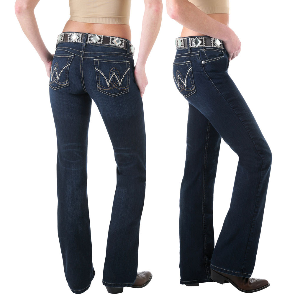 7731ee1dce1c9 Wrangler Womens Premium Patch Booty Up