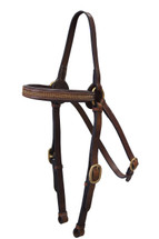 Calgary Leather Barcoo Bridle With Diamante Browband