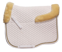 Zilco Dressage Saddlecloth With Fleece Trim