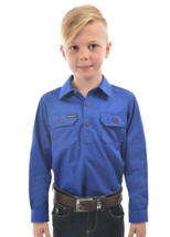 Thomas Cook Kids Hard Slog Half Placket Shirt
