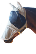 Soft Mesh Fly Mask With Zip off Nose Piece