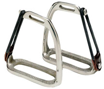 Peacock Stirrup Irons Stainless Steel
