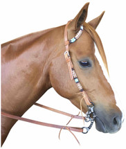 Calgary One Ear Western Bridle AK-863