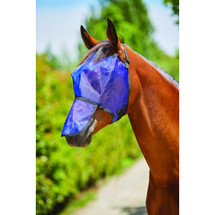 Saxon Fine Mesh Fly Mask With Nose