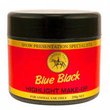 Champion Tails Highlight Makeup Blue Black - 250g