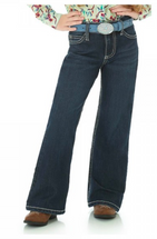 Wrangler Girls Boot Cut Jean With Embroidered Pocket - 09MWGER