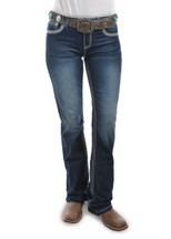 Pure Western Womens Indiana Relaxed Rider Jeans