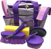 8 Piece Purple Grooming Kit