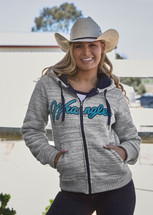 Wrangler Womens Avianna Zip Up Hoodie