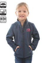 Pure Western Girls Soft Shell Jacket
