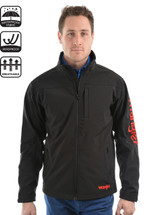 Wrangler Mens Logo Soft Shell Jacket