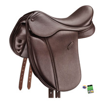 SPECIAL PRICE ~ Bates Pony Show+ Saddle With CAIR