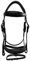 Regent Padded Hanoverian Bridle - Shaped
