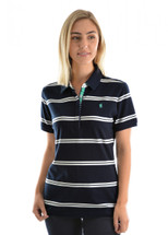Thomas Cook Womens Janine Stripe Polo