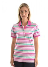 Thomas Cook Womens Ava Stripe Polo