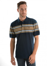 Thomas Cook Mens Baker Stripe Polo