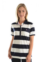 Thomas Cook Womens Rachel Stripe Polo