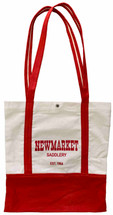 Newmarket Saddlery Canvas Tote Bags