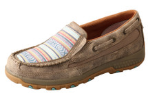 Twisted X Women's Boat Shoe Driving Moc with CellStretch®