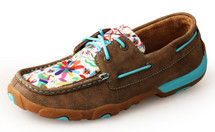 Twisted X Women's Boat Shoe Lace Up Driving Moc