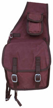 Canterbury Canvas Double Saddle Bag