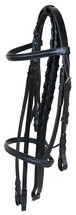 Cambridge Cavesson Bridle With Laced Reins