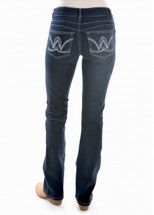 Wrangler Womens Mid Rise Jackson Jewels Jeans