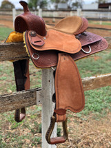 American Leather 'Sacramento' Pleasure Western Saddle