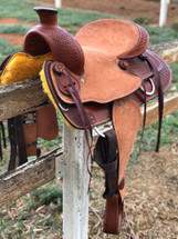 American Leather 'Sacramento' Ranch Western Saddle