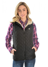 Pure Western Womens Jenna Quilted Vest