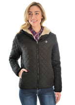 Pure Western Womens Jenna Quilted Jacket