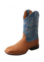 Twisted X Womens Blue Ruff Stock Boot